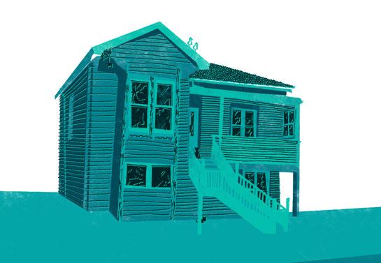 Craggy Auckland villa
