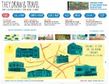 Rickitinic map for they draw and travel